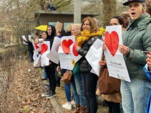 Onze #hartvoorvrijheid poster
